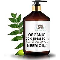 Neem olja kallpressad oraffinerad 100 % ren (500 ml)