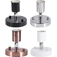 1 St E27 Verstelbare Wandlamp Lamphouder, Duurzaam 180 ° Roterende Moderne Vintage Plafondlamp Socket voor Office Bar…