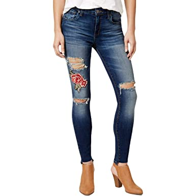 a27026cde115d STS Blue Womens Emma Denim Embroidered Ankle Jeans at Amazon Women s ...