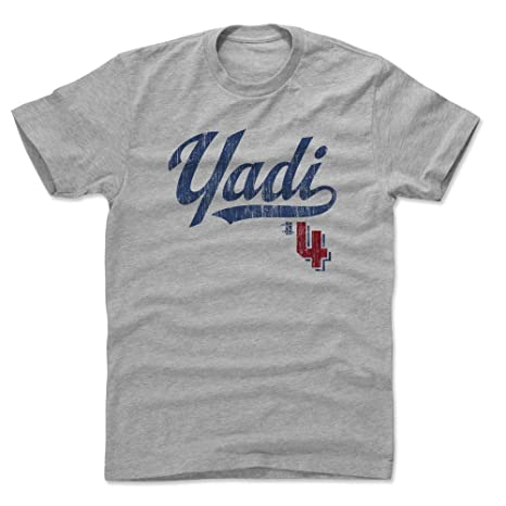 8c9928db 500 LEVEL Yadier Molina Cotton Shirt Small Heather Gray - St. Louis Baseball  Men's Apparel