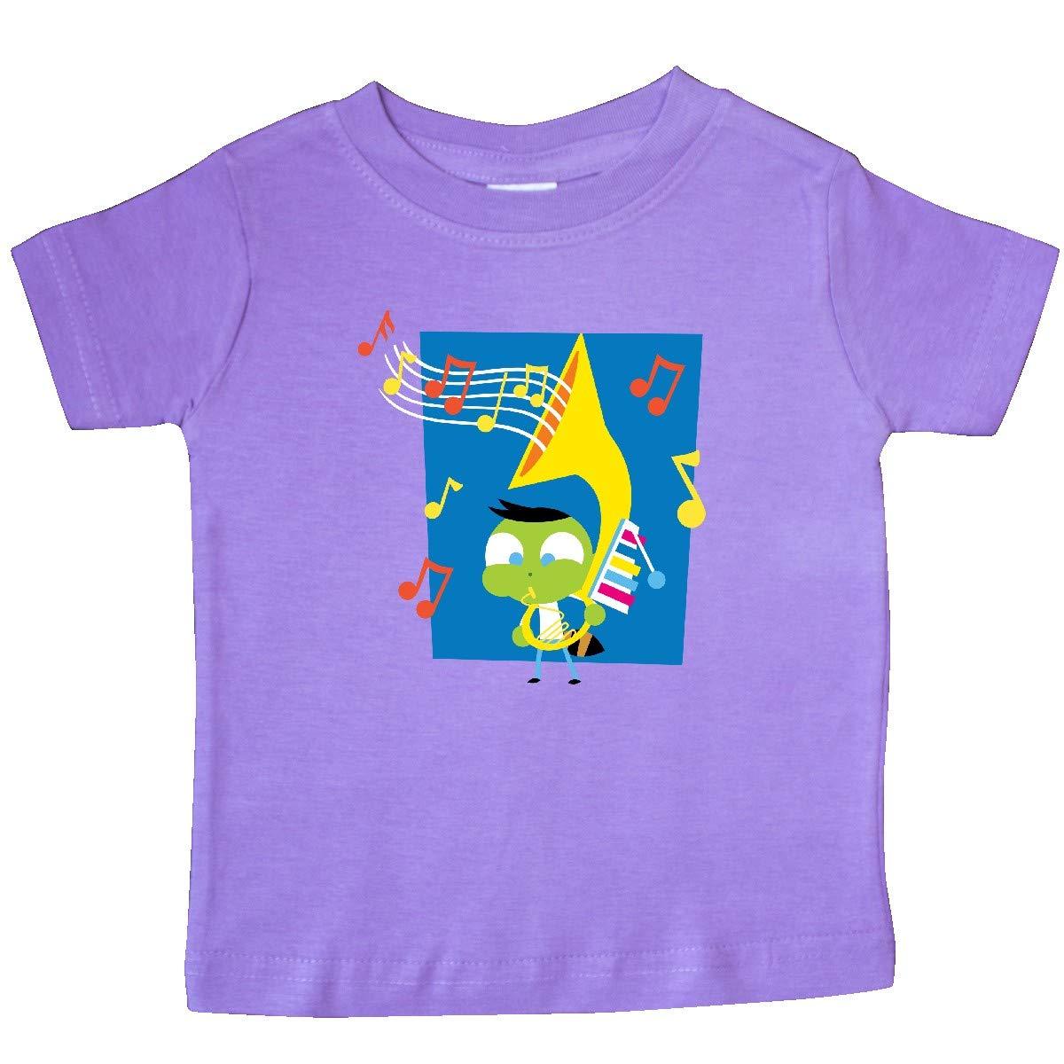 inktastic Del Playing Tuba Baby T-Shirt PBS Kids