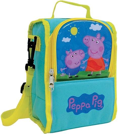 Bandoulière Sac Pour Peppa LBleu À Cm5 Pig Isotherme Enfant25 Jemini Bagage Rq4ALc35j