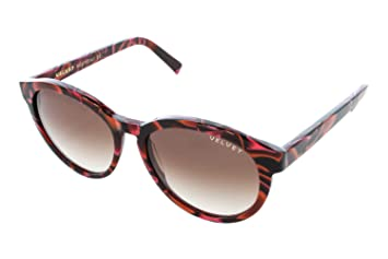 e53d0d8527 Image Unavailable. Image not available for. Color  Velvet Eyewear Bella Red  Lava Sunglasses - Brown Fade