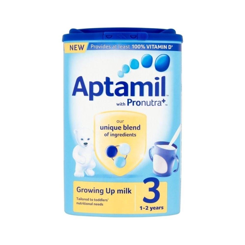 Aptamil Growing Up Milchpulver für Kleinkinder 1yr + (900g) - Packung mit 2