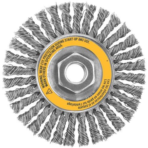 DEWALT DW4927 4-Inch X 5/8-Inch-11 String Bead Wire Wheel Stainless