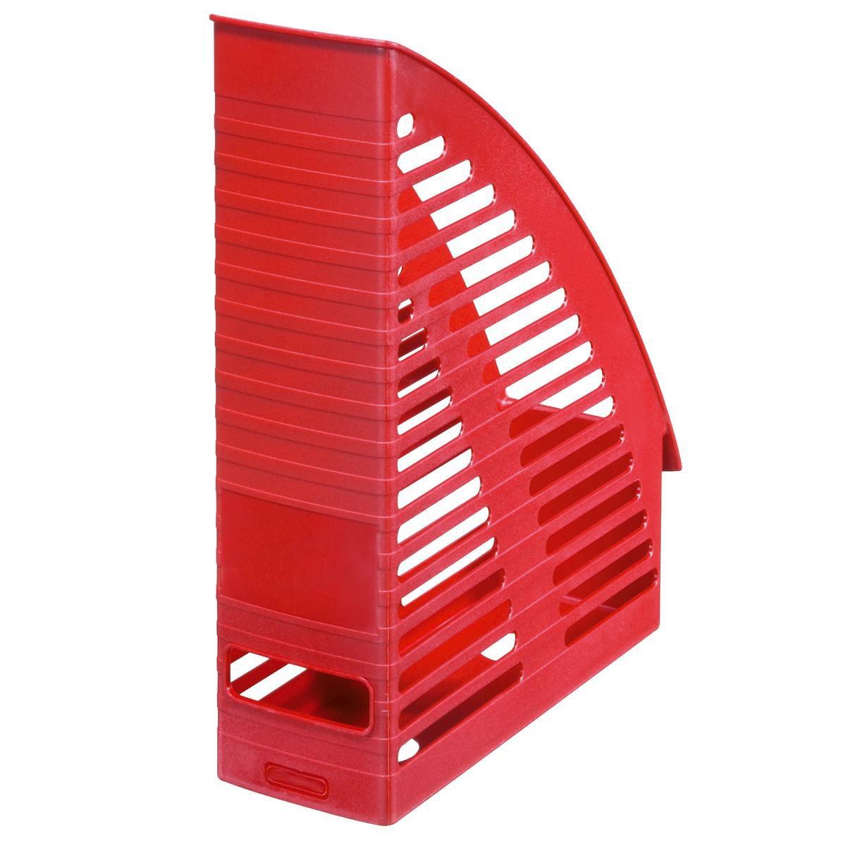 rot 4 Stehsammler Farbe Plastik Stehordner