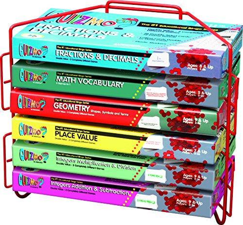 Learning Advantage 8274 Quizmo Math Game Series, Advanced Elementary, Grade: 4 to (Math Game Series)