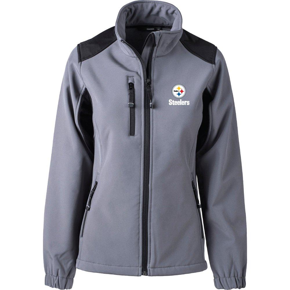 19bdcb2af Amazon.com   Dunbrooke Apparel NFL Pittsburgh Steelers Women s Softshell  Jacket