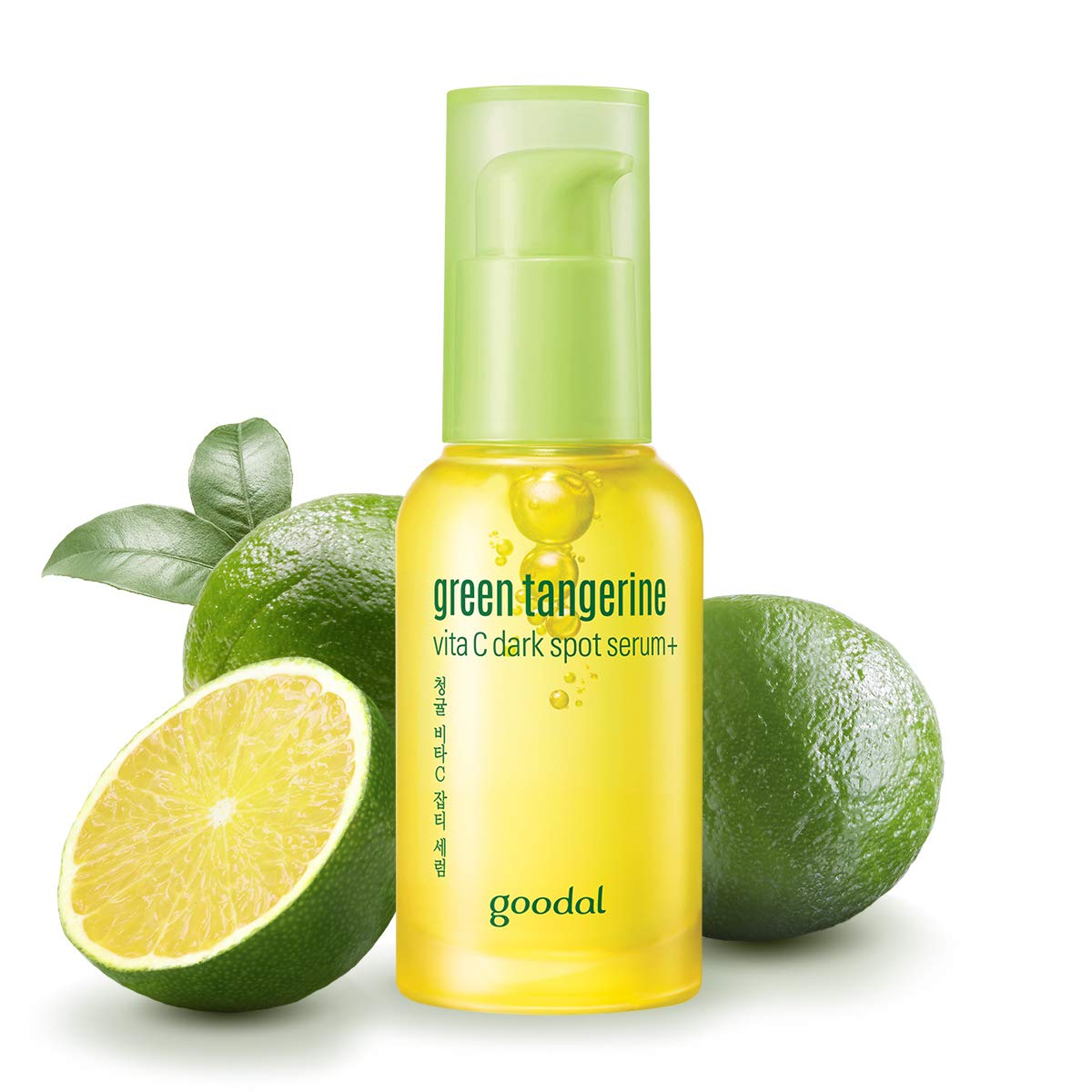 Goodal Green Tangerine Vitamin C Dark Spot Facial Serum+ for Sensitive Skin | Brightening, Dark Spot Treatment, Anti-Aging, Acne Scars, Fine Lines, Hyperpigmentation, and Dark Circles (1.0 fl oz)