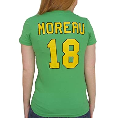 Amazon.com  Connie Moreau  18 Mighty Ducks Movie Jersey T-Shirt ... 52f3344ad