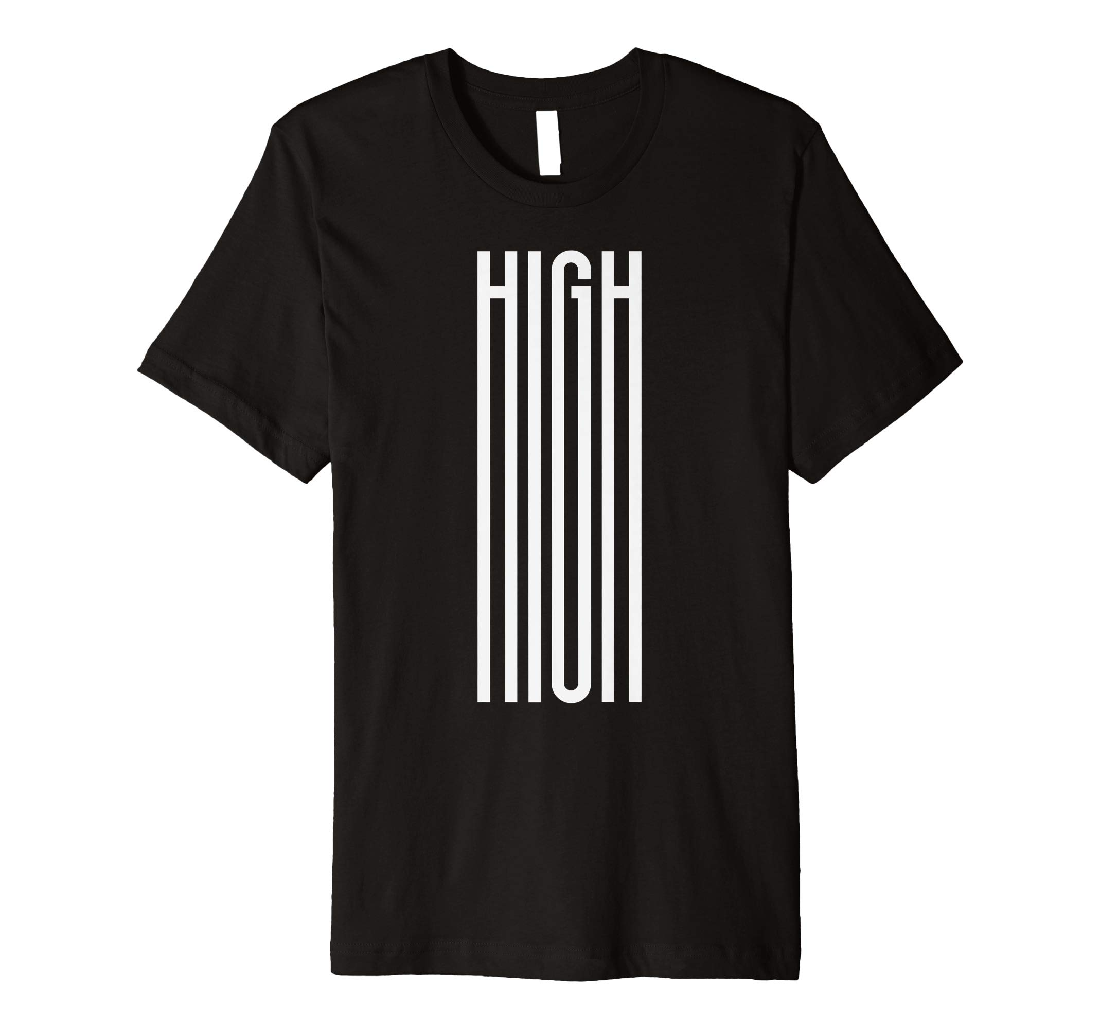 HIGH-420-Funny- Premium T-Shirt