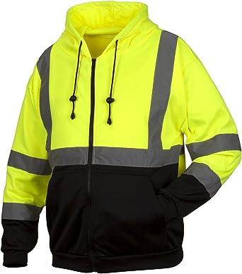 High Visibility Full Zip Fleece