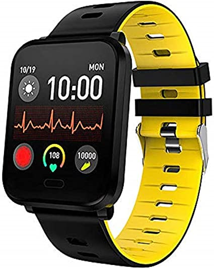 Gierzijia Smart Watch, IP68 Waterproof Smartwatch for Swimming for Men & Women, Fitness Tracker with Heart Rate & Blood Pressure & Sleep Monitor ...