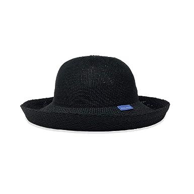 1ccd94e7227 Wallaroo Hat Company Women s Victoria Sun Hat - Black - Ultra-Lightweight