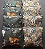 corn bags for hunting - REALTREE Cornhole Bean Bags ACA Regualtion Camo Outdoor Wildlife Duck Hunting