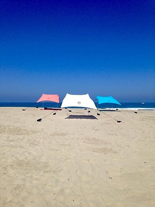 """72 opinioni per Sand Anchor-Tenda da spiaggia con tettuccio parasole, 82"""" x 80"""" per portatile,"""
