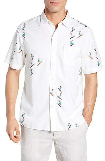a02f8f65 Tommy Bahama Hula Gals Camp Shirt at Amazon Men's Clothing store: