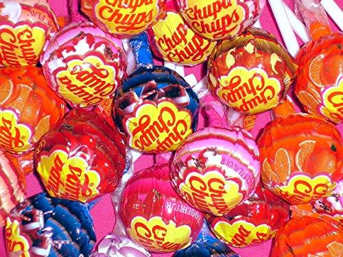 Chupa Chups Assorted Lollipops, 1 LB -