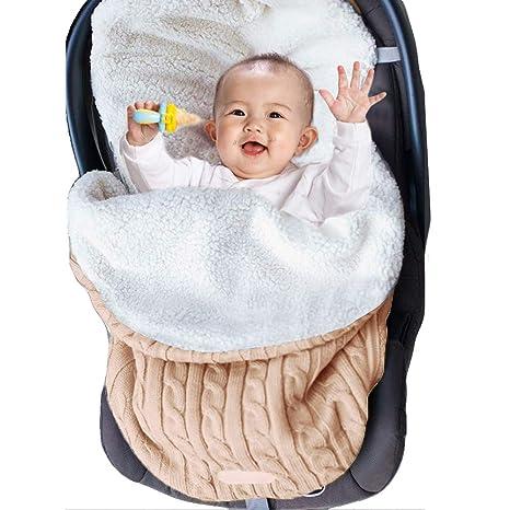 Niños Niñas Saco de Dormir Manta Swaddle para Cochecitos, Cunas o Sillas de Paseo Bebé