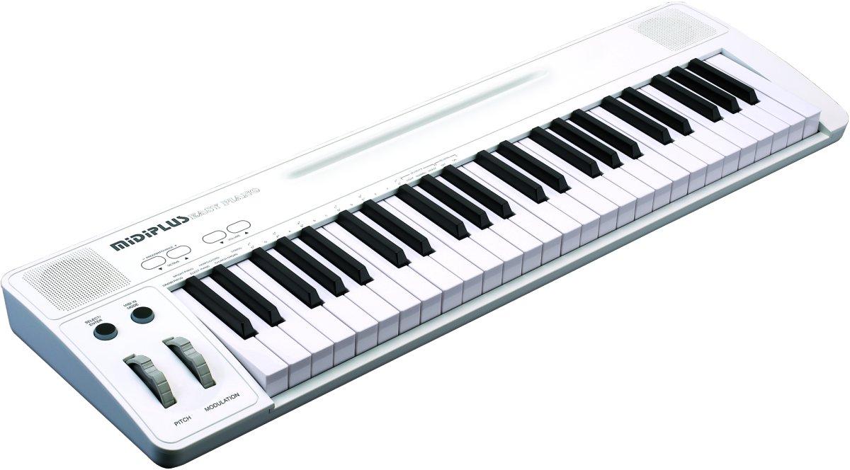 midiplus Easy Piano 49 keys USB MIDI keyboard with sound by Midiplus
