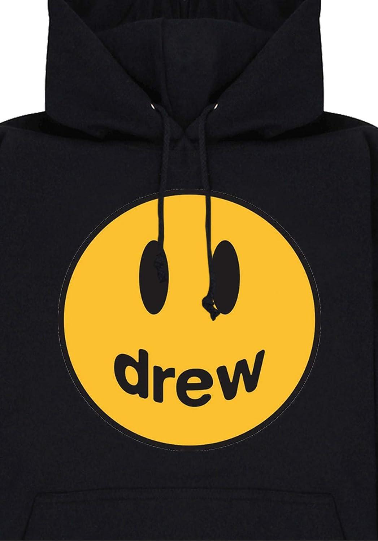Sweat Capuche Noir Mascot Logo Justin Bieber Magic Custom Drew House