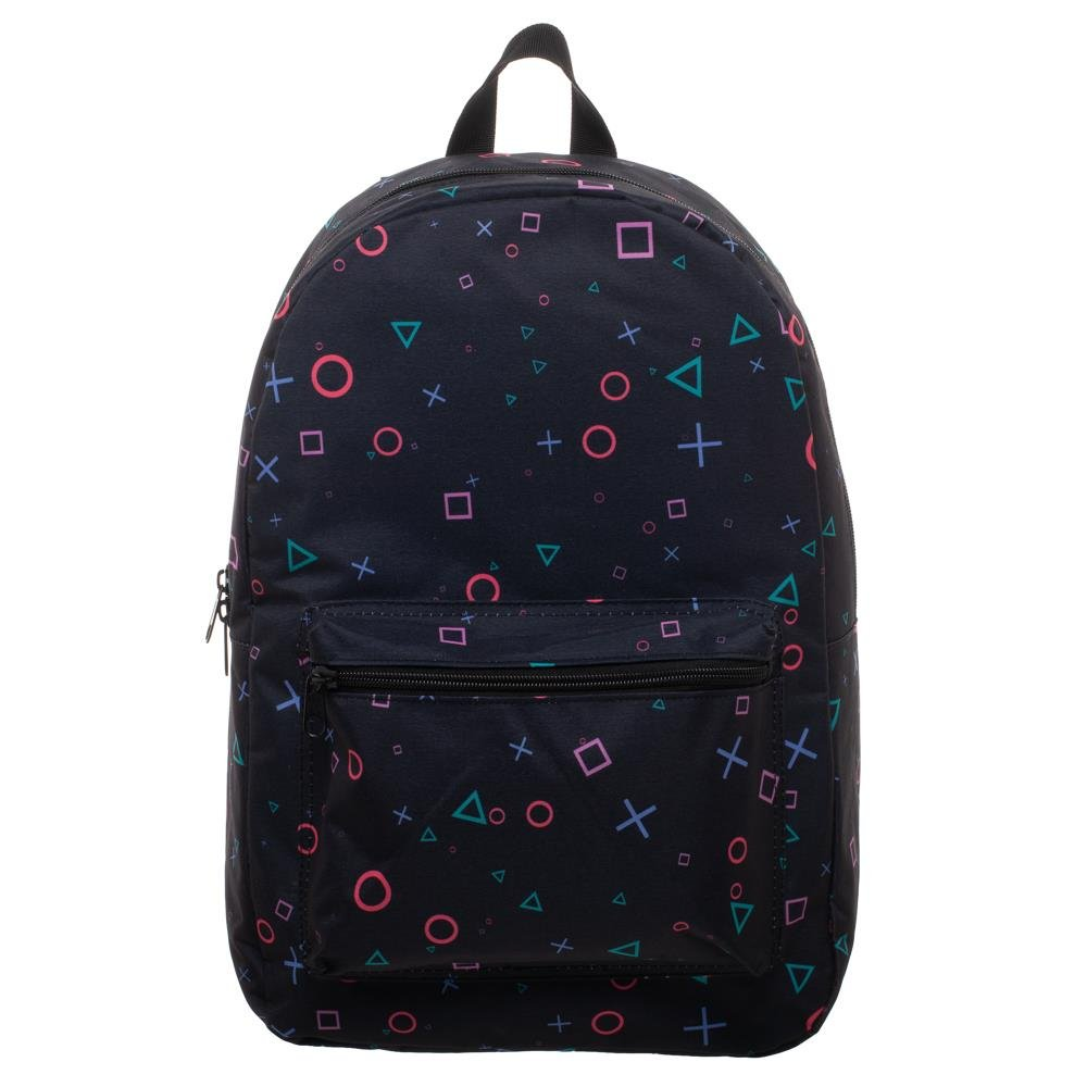 Playstation Print Playstation Button Sublimated Backpack - Playstation Backpack - Playstation Bag Gift