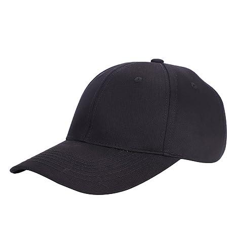 34f84970514e3 ITODA Chapeau de baseball Soleil en Coton Casquette Plate couleur Pure  Anti-Lumière Anti-