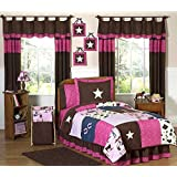Sweet Jojo Designs 4-Piece Western Horse Cowgirl Children's Bedding Twin Set