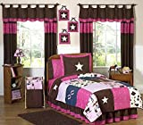 Western Horse Cowgirl Children's Bedding 4pc Twin Set