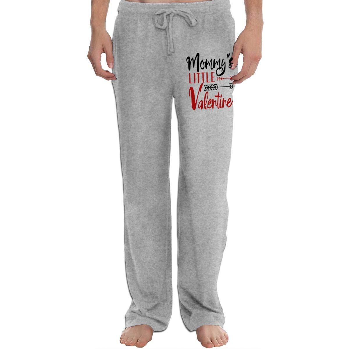KWZ44 Cotton Jersey Knit Pajama Pants//Lounge Pants Mommys Little Valentine
