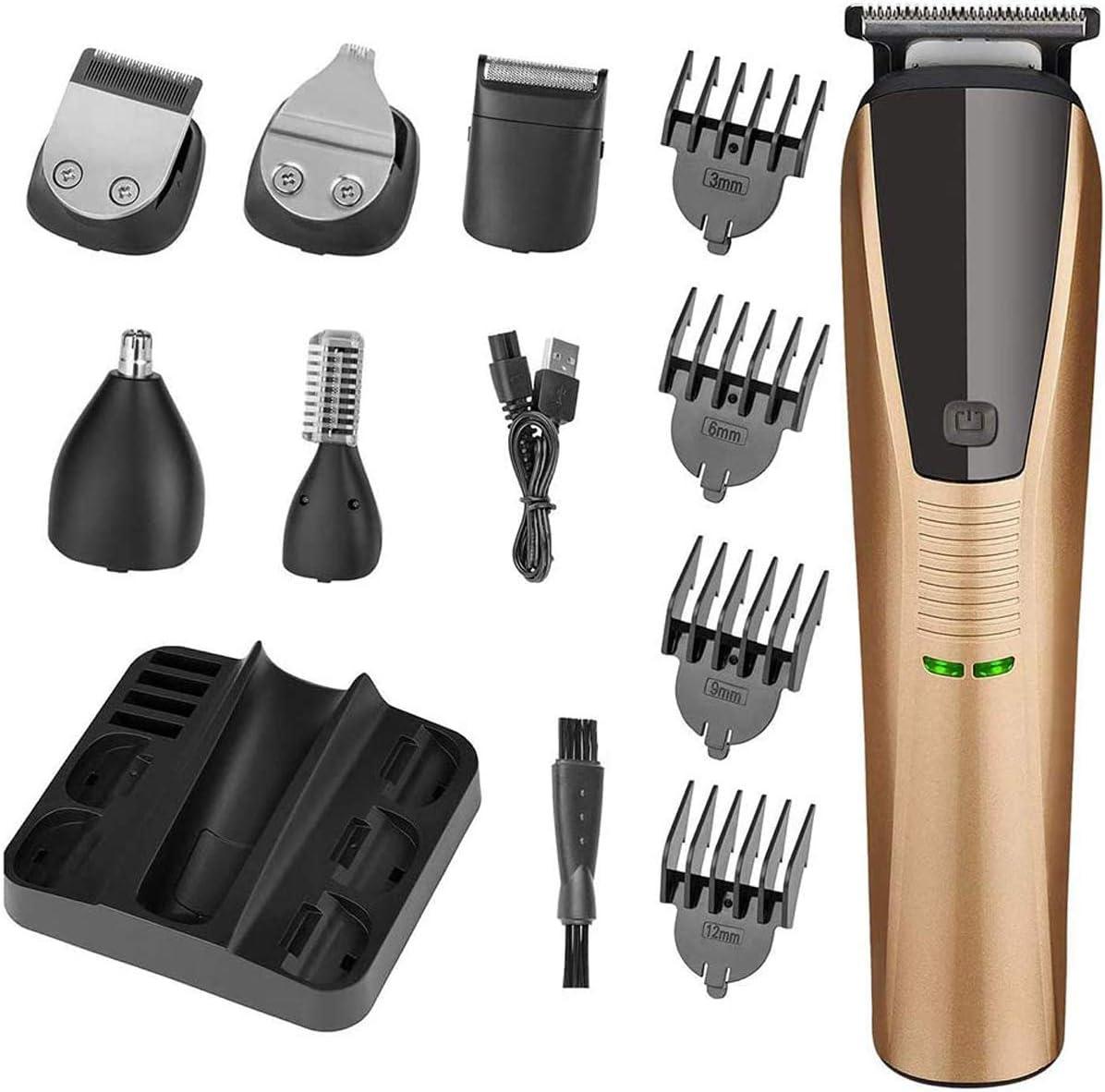 Cortapelos Profesional Máquina de cortar el pelo para Hombres Eléctrica Kit Cortapelos Cortapelos con batería para adultos niños y mascotas