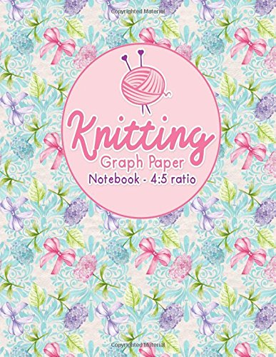 Knitting Graph Paper Notebook - 4:5 Ratio: Knitters Graph Paper Journal, Knitting Design Graph Paper, Blank Knitting Patterns Book, Asymmetric Pages, Hydrangea Flower Cover (Volume 41) ebook