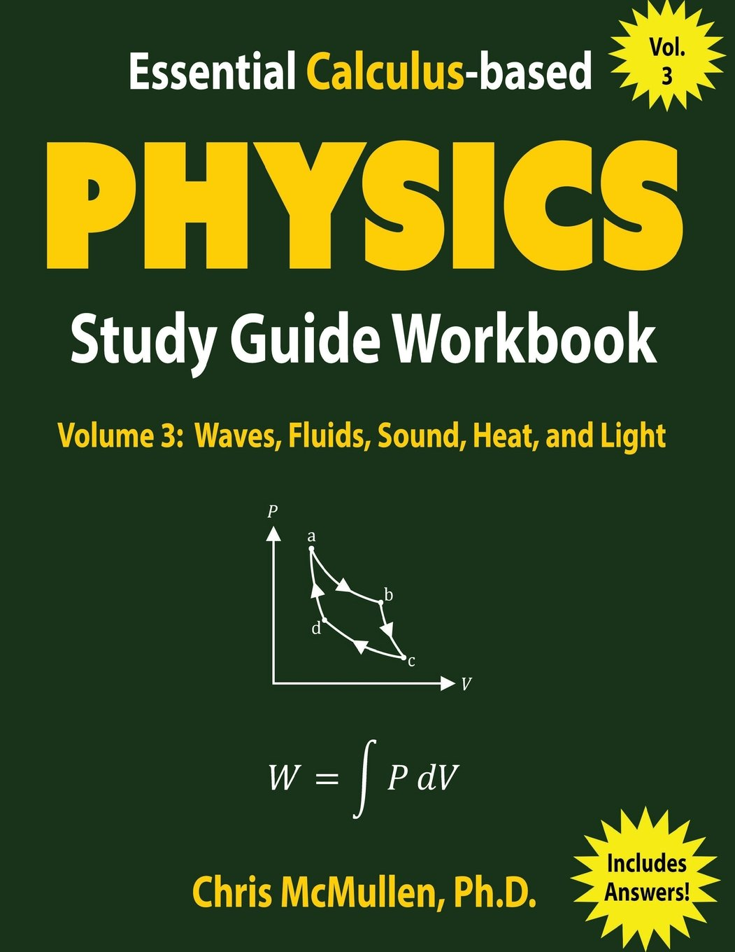 Essential Calculus-based Physics Study Guide Workbook: Waves ...