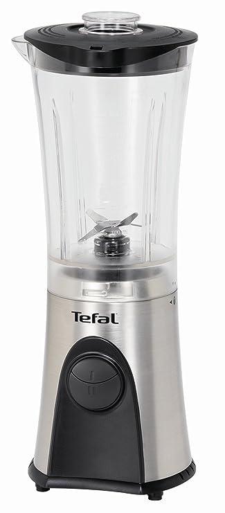 Tefal Blender Mini Multi Deluxe, Acero inoxidable, Negro, Plata ...