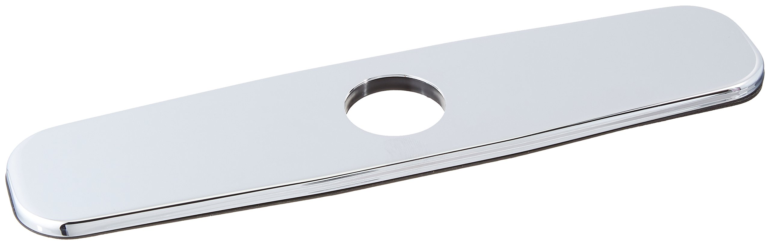 Danze DA665051 Kitchen Faucet Single Hole Mount Cover Plate, 8-Inch, Chrome