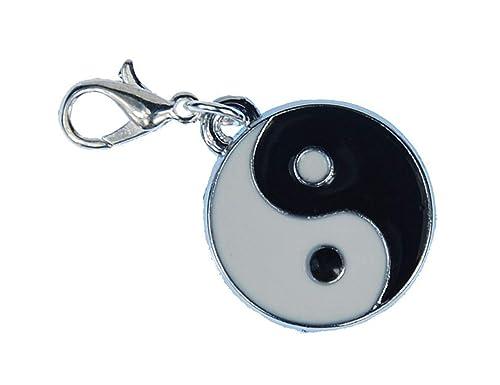 Miniblings Yin Yang Charm Anhänger Bettelarmband Ying Zeichen Daoismus  Taijitu 745dca797a