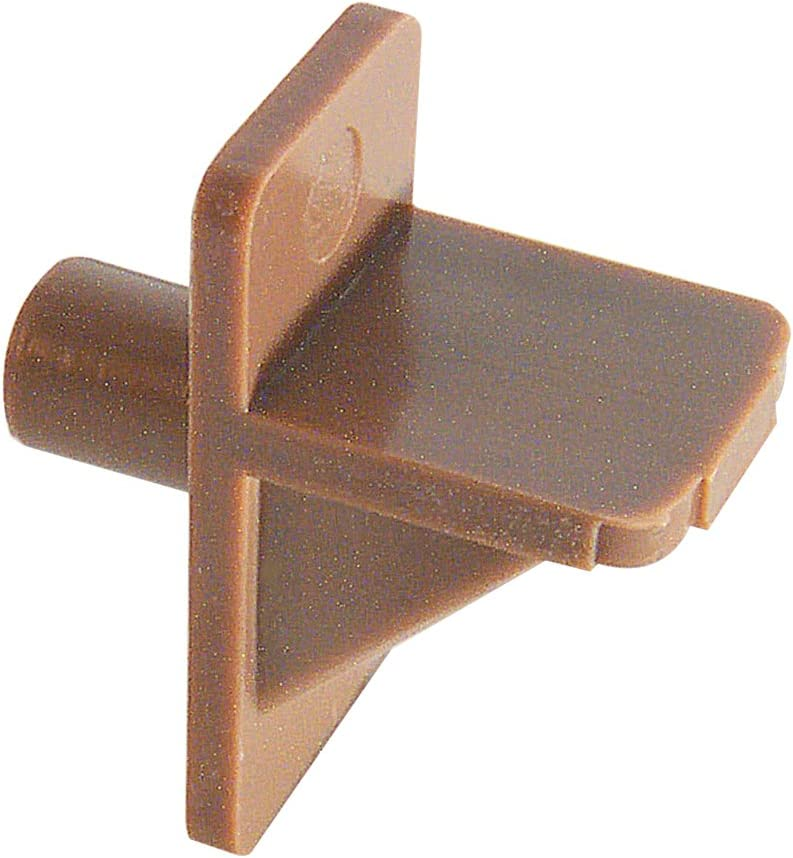 White Plastic, Prime-Line Products U 10138 Shelf Support Peg 1//4-Inch Pack of 8