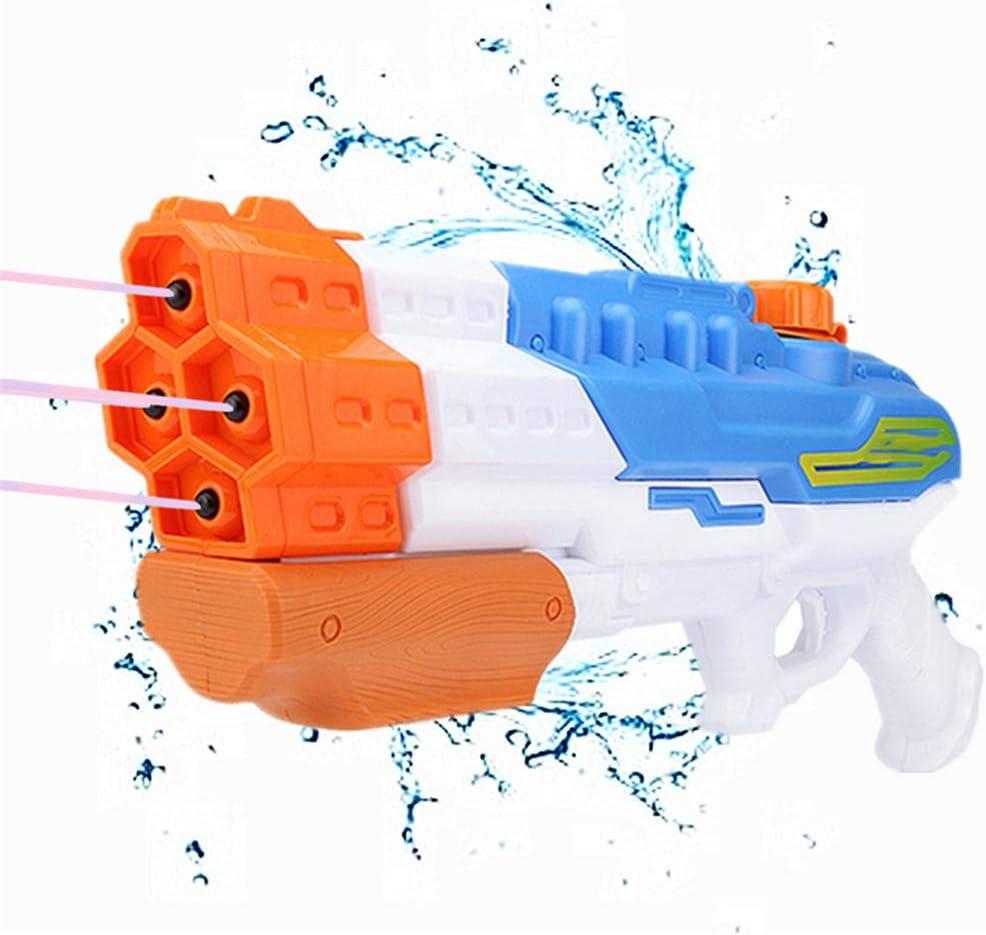 XLNB Pistola de Agua Absorbente de Agua 4 boquillas Onda de Choque de Agua Pistola de Agua Piscina de Verano al Aire Libre Juguetes de Playa