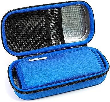 CMCC Enfriador De Insulina Bolsa,Portátil Estuche De Viaje Mantiene Jeringas Medicamentos Temperatura Adecuada Para Diabéticos Blue: Amazon.es: Salud y cuidado personal