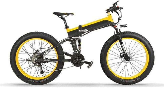Bicicleta eléctrica de montaña Motor sin escobillas 400W Batería ...