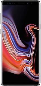 Samsung Galaxy Note 9, 128GB, Midnight Black - Fully Unlocked (Renewed)