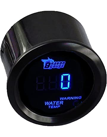 Misuratore di temperatura dell/'acqua con display digitale per auto 1//2
