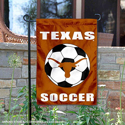 Texas Longhorns Soccer Garden Flag and Yard ()