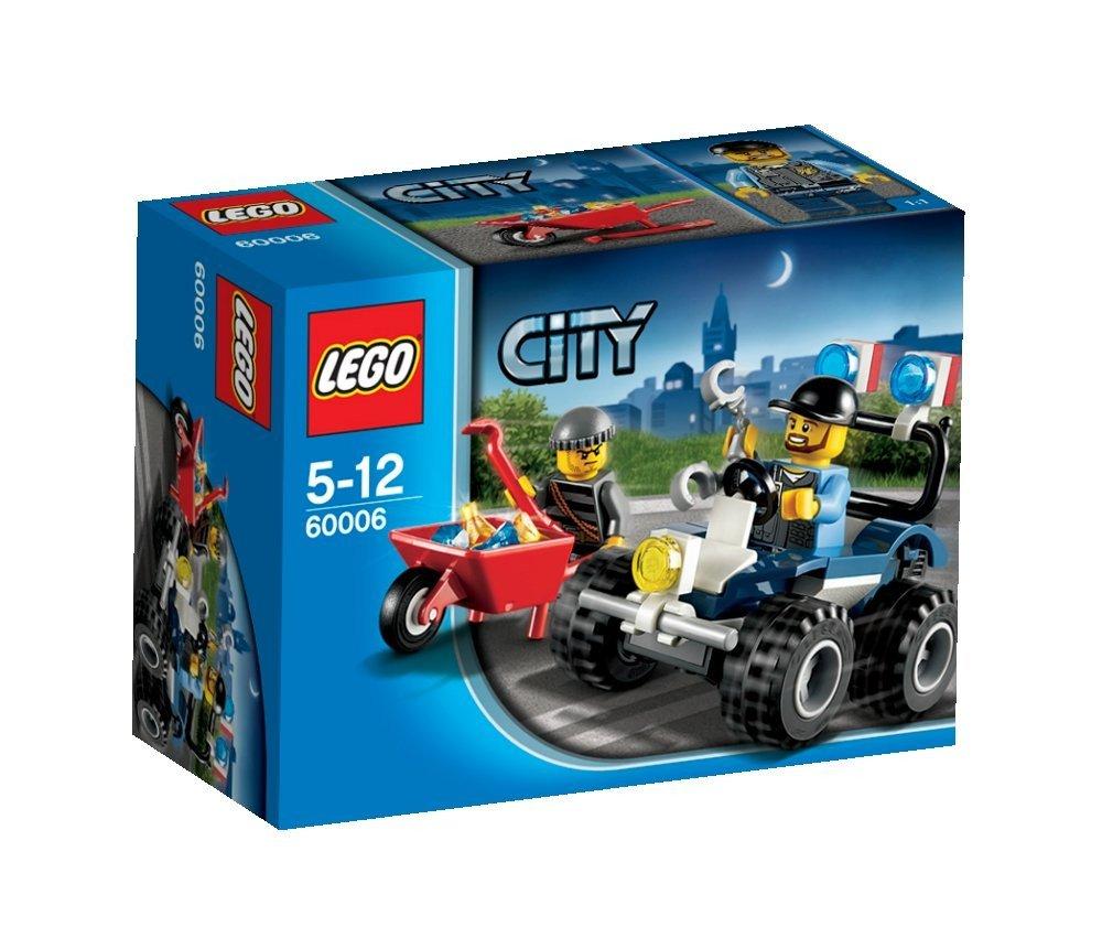 LEGO 60006 Police ATV Set City 4x4 Quad Bike Burglar Wheelbarrow Sealed Box NEW