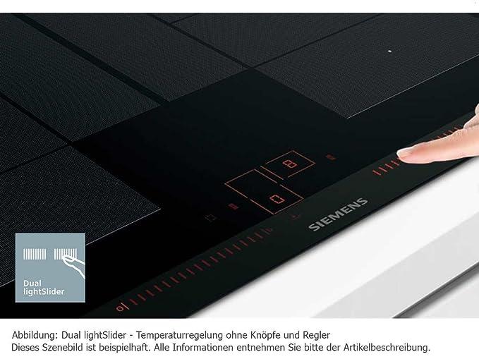 Siemens iQ700 - Placa (Integrado, Inducción, Vidrio y ...