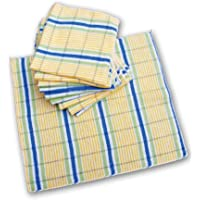 Schulz – Dammdukar traditionell – ren bomull – förpackning med 10