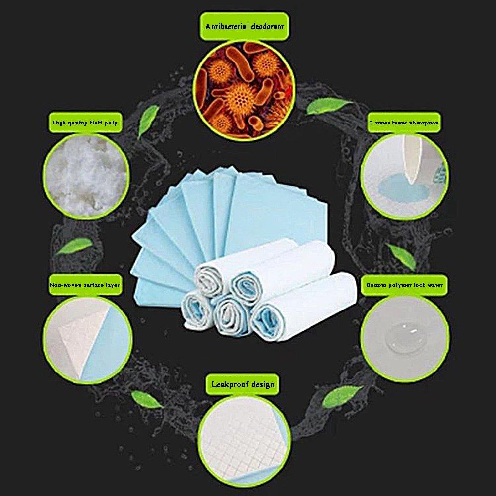 shanzhizui Pañales para perros de solución simple Perro almohadilla Grueso absorbente 100 tabletas Pañales desodorante, L: Amazon.es: Productos para ...