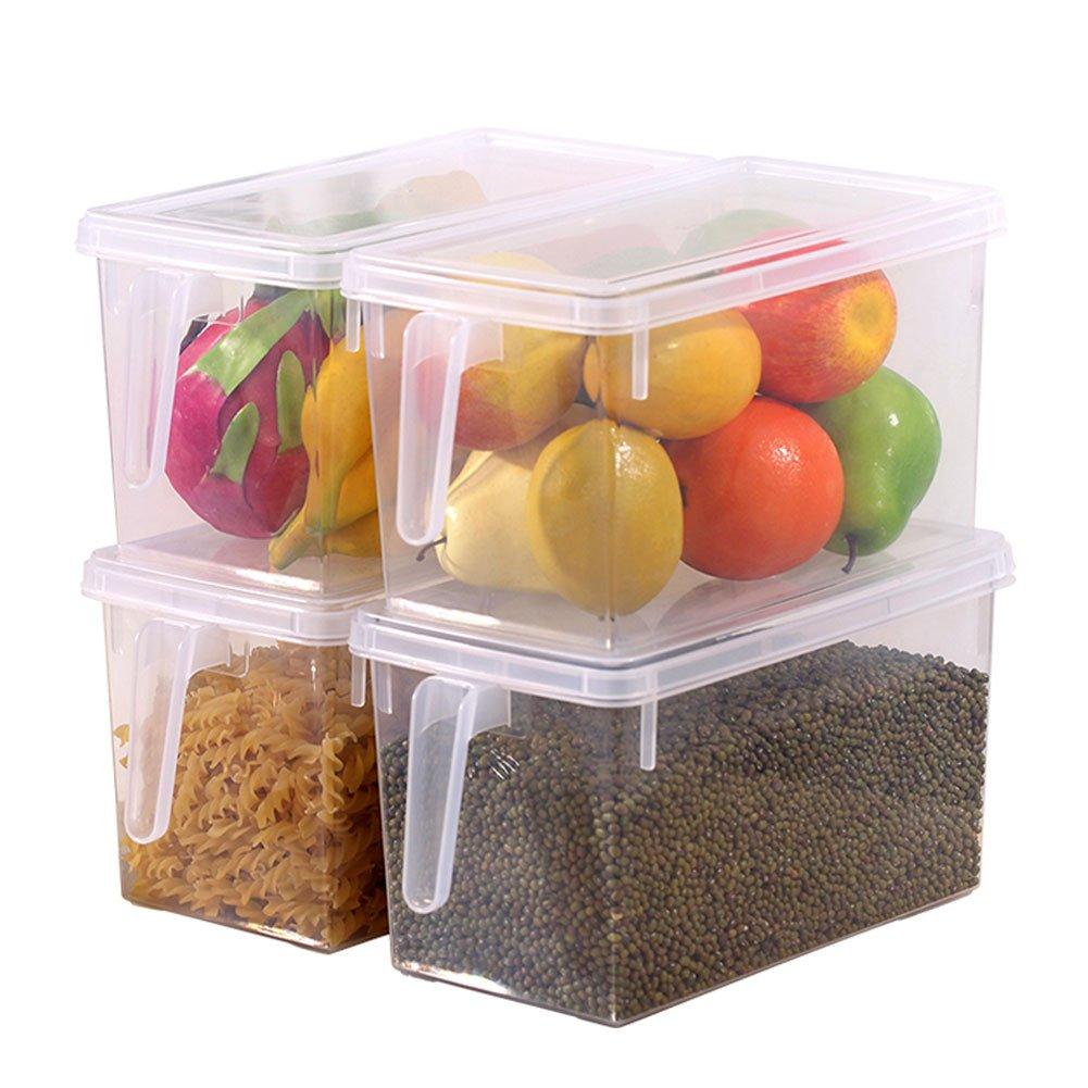 Set de 4 pequeñas cajas con tapa y asa para facilitar su manejo. Opción de packs.