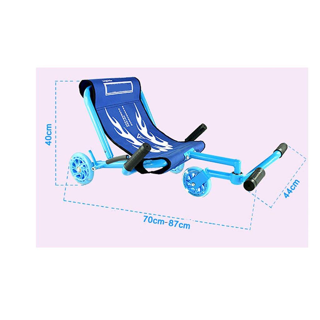 Kinder Kinder Kinder Yo-Auto Platz Gleiten Schaukel Yo Auto Twist Auto Mute Runde Spielzeug Fuß Auto (Farbe : Grün) 2a71ff