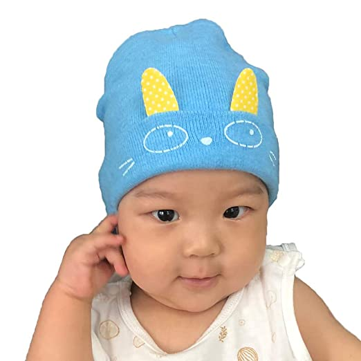 8b5d657c801aa Smallrabbit Toddler Winter Hat 0-1Year Newborn Baby Wool Knit Hats Soft Beanie  Cap Cute
